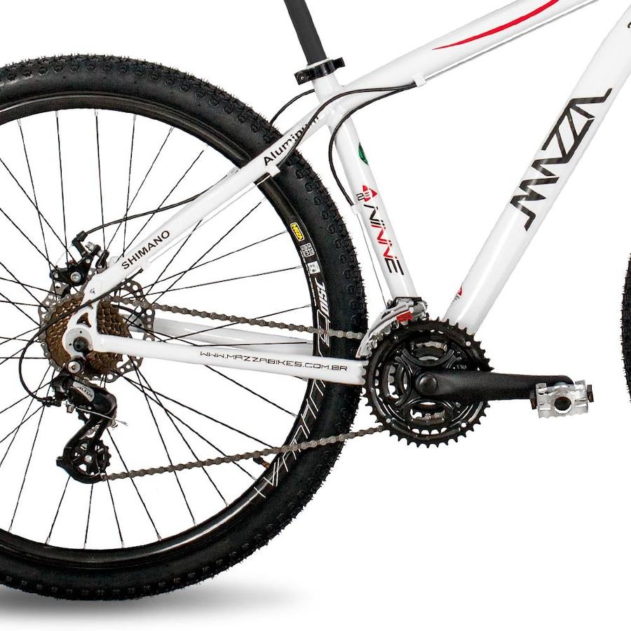 Mountain Bike Mazza Bikes Ninne MZZ-400 - Aro 29 Freio a Disco - Câmbio Shimano  Altus - 24 Marchas a0b7b3e7b66c9
