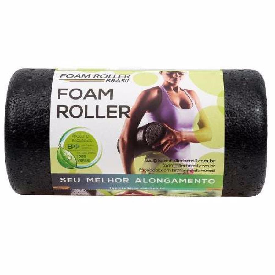 Rolo de Massagem Natural Fitness Foam Roller Brasil dc808240ec