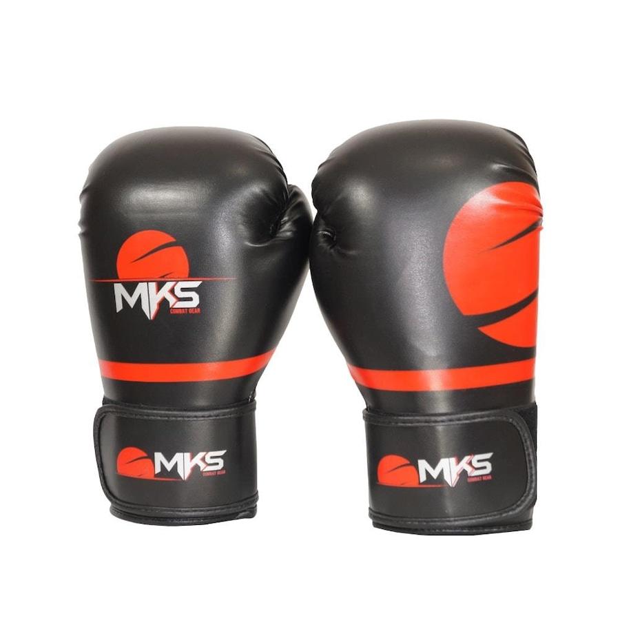 Luva de Boxe Mks Combat Champions Pro 10 OZ - Adulto d7b9b8a721281