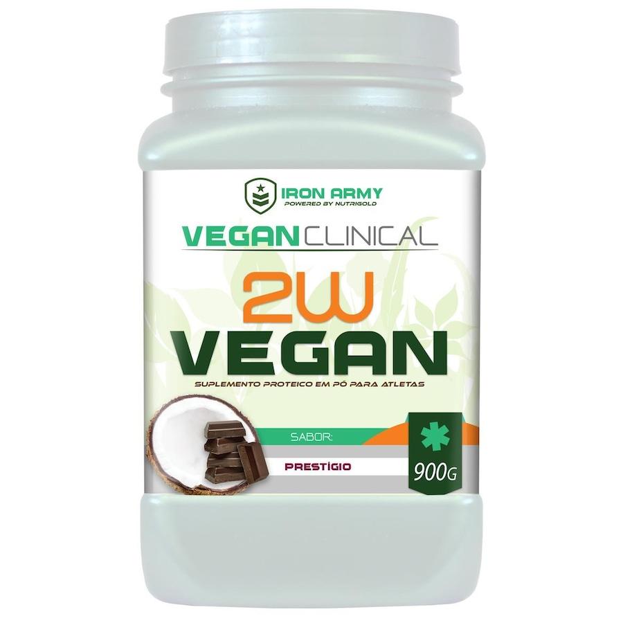 62953cdf1 Proteína Vegana Iron Army 2W Vegan (Proteína de Ervilha + Arroz) - 900G -  Prestígio
