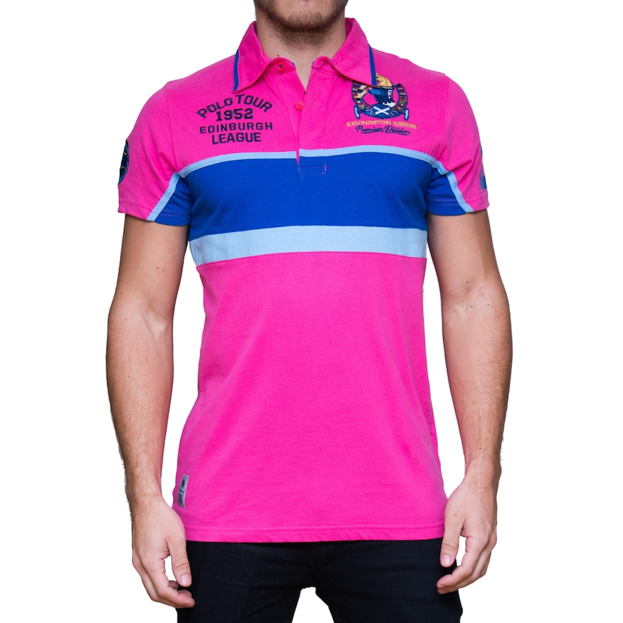b12b015a01 Camisa Polo Kevingston Taylor Rugby M C Scotland - Masculina