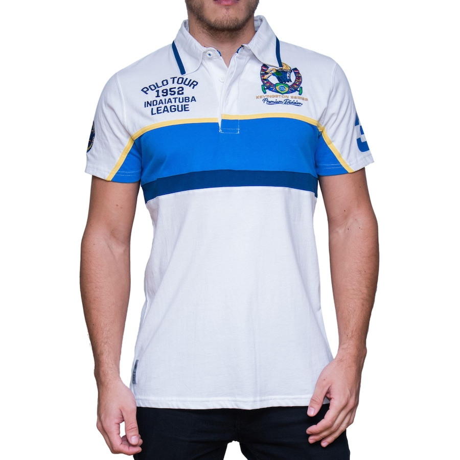 Camisa Polo Kevingston Taylor Rugby M C Brazil - Masculina b0c0daa122612