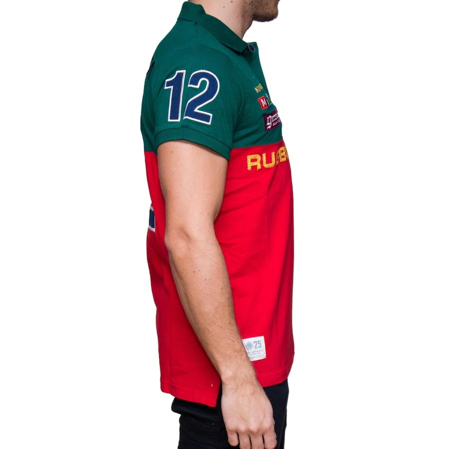 66d201da6 Camisa Polo Kevingston Volda Rugby M C Portugal - Masculina