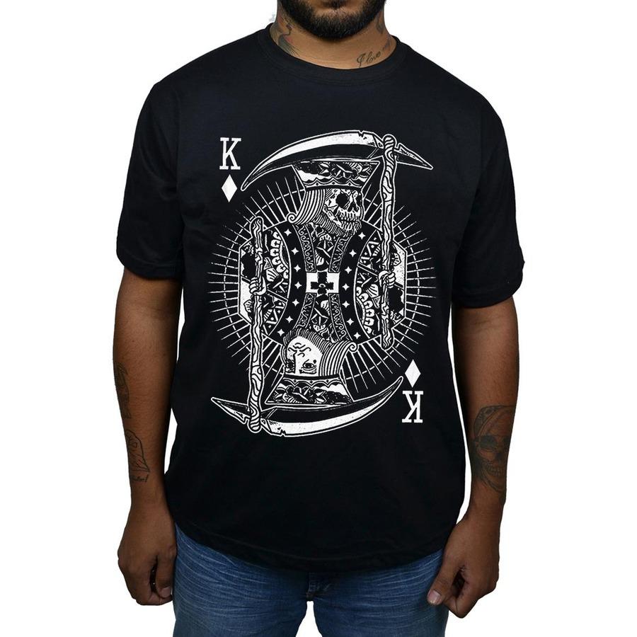Camiseta Rei Caveira Abduction - Masculina 139ff6df908