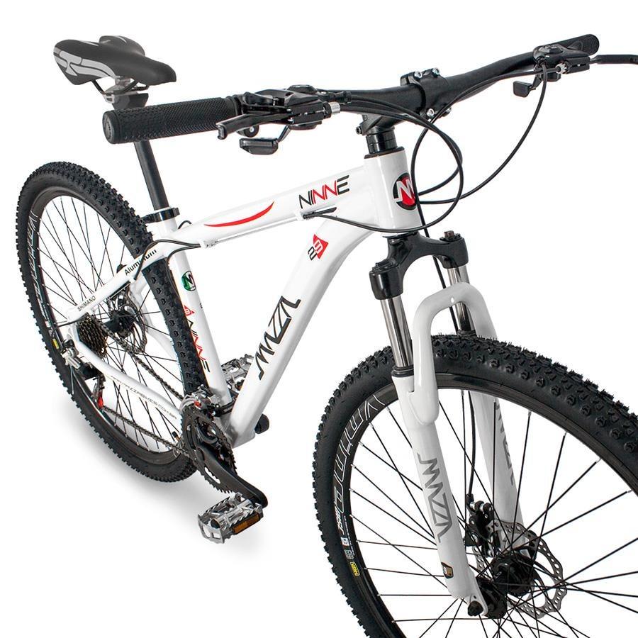 127bb874e Bicicleta Mazza Bikes Ninne MZZ-1300 - Aro 29 - Freio a Disco - Shimano - 21  Marchas