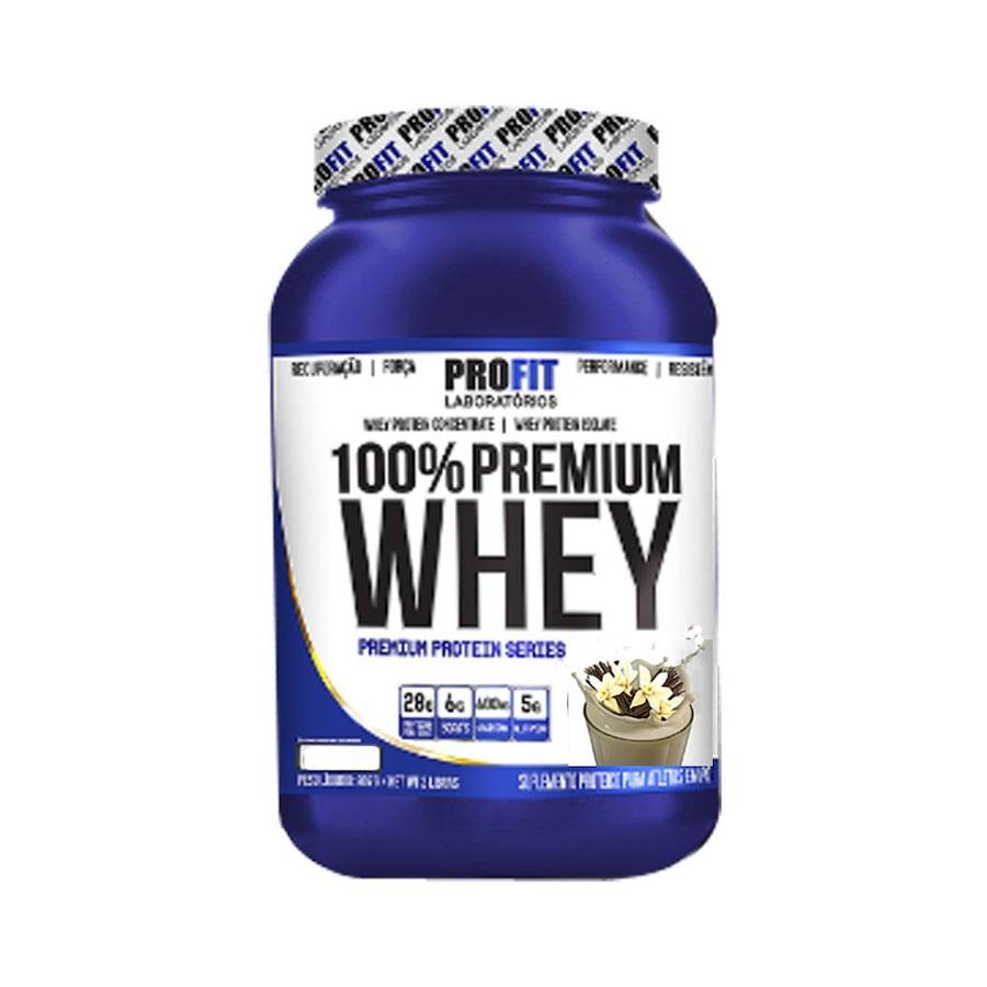 f914e44ad Whey Protein ProFit 100% Premium Whey - Baunilha - 900g