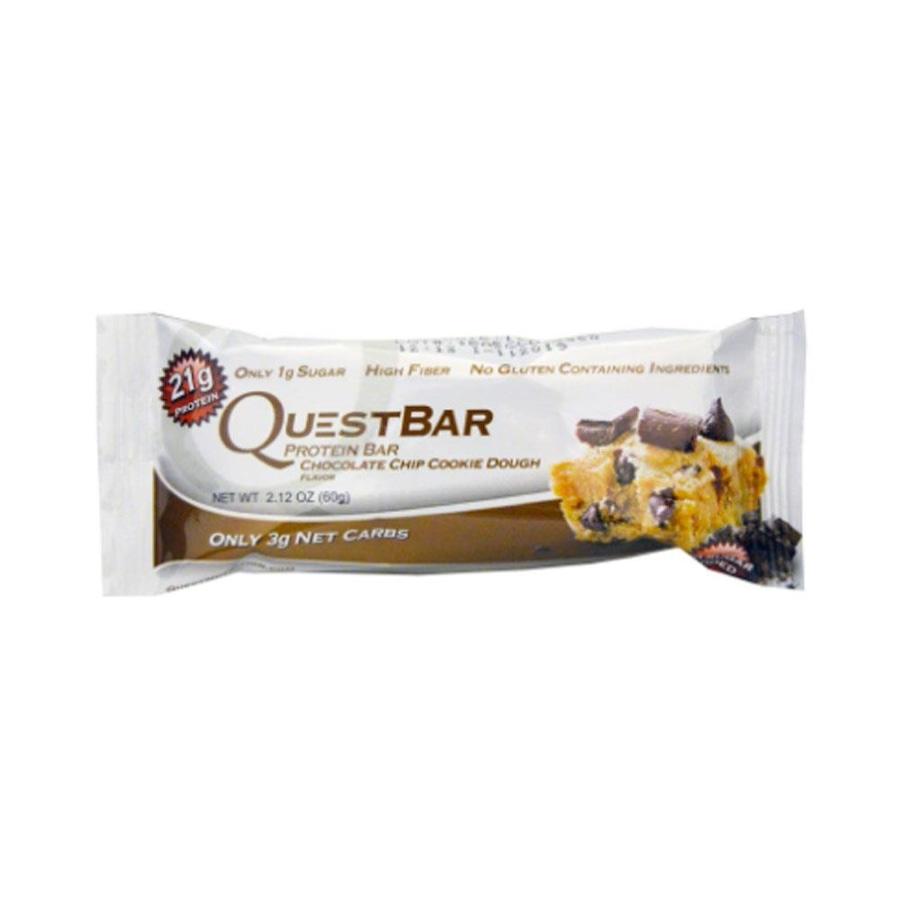 b2f441c58 Barra de Proteína Quest Nutrition Quest Bar - Chocolate Chip Cookie Dough -  60g