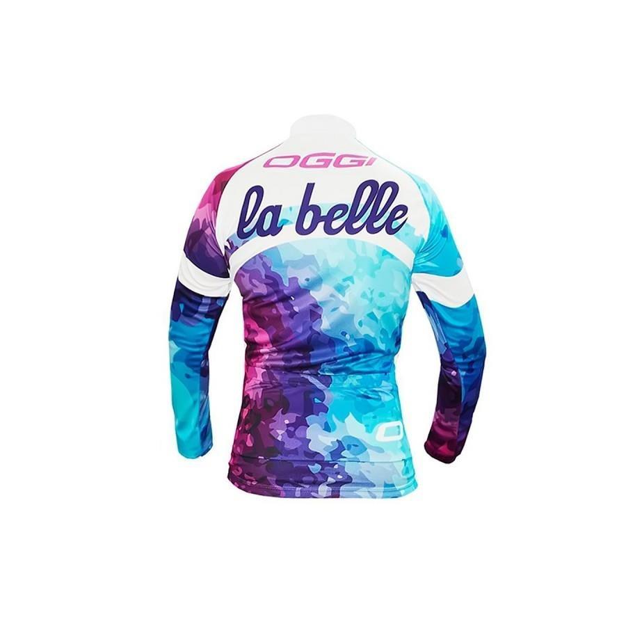 Camisa Ciclista Oggi La Belle Manga Longa - Feminino 46f3c7030ffc4
