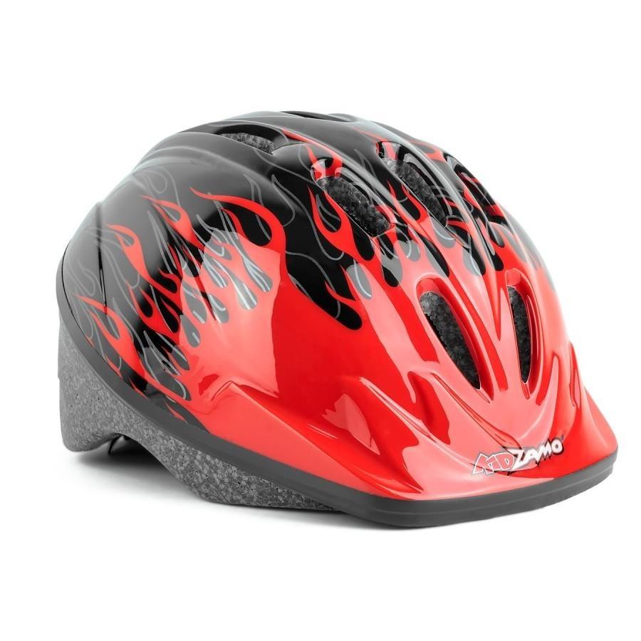 3d6b764bf Capacete de Ciclismo Kidzamo Chamas - Infantil