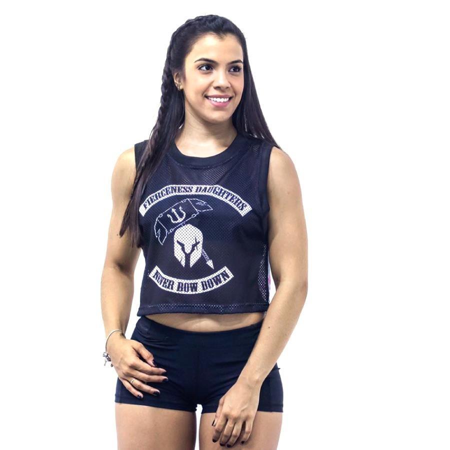 Camiseta Regata Cropped Team F.E.W ® Fierceness Daughters Nordika - Feminina d87ceb9b46fd3