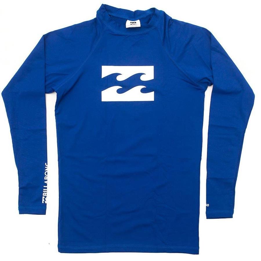 Camiseta Manga Longa Billabong Around em Lycra - Masculina 297e463e51a