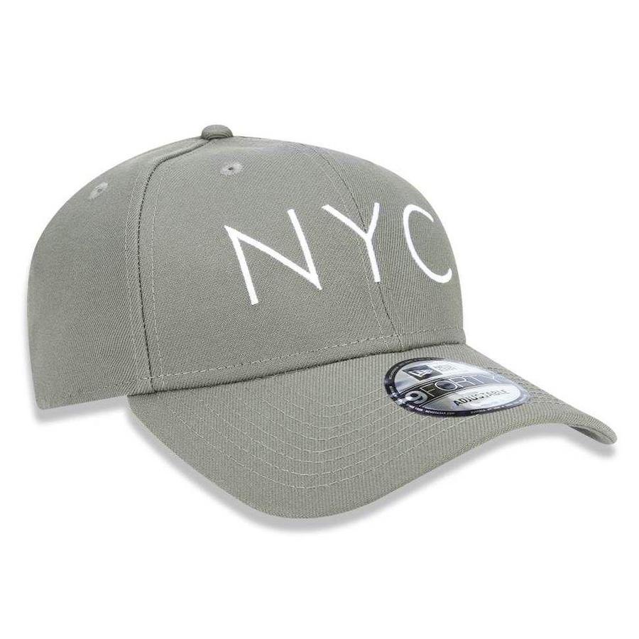 Boné Aba Curva New Era 940 NYC New York City - Snapback - Adulto 83c804226a4