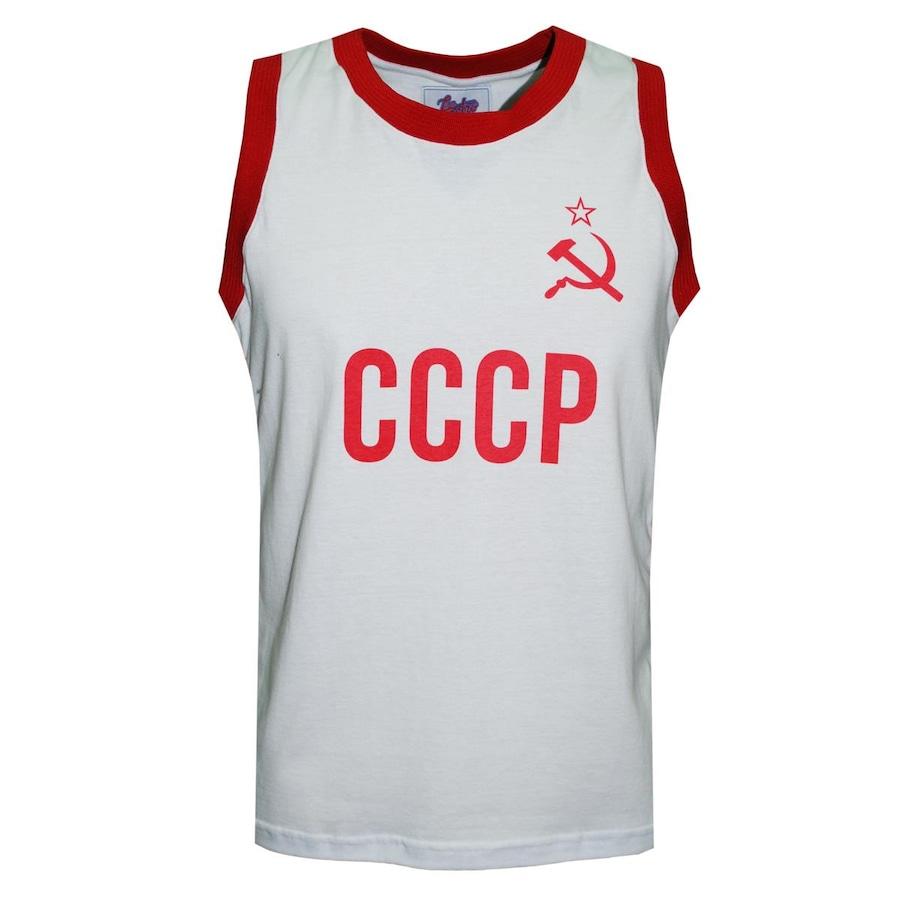 Camiseta Regata Liga Retrô CCCP União Soviética 80 s - Masculina 72a039f0fd2