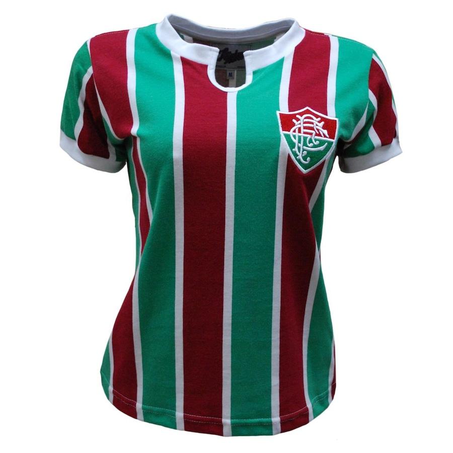 Camiseta do Fluminense Liga Retrô 1976 - Feminina 8b7c60c06f5f0