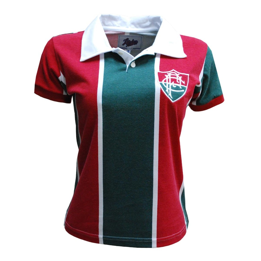 33d4123afb Camiseta do Fluminense Liga Retrô 1913 - Feminina