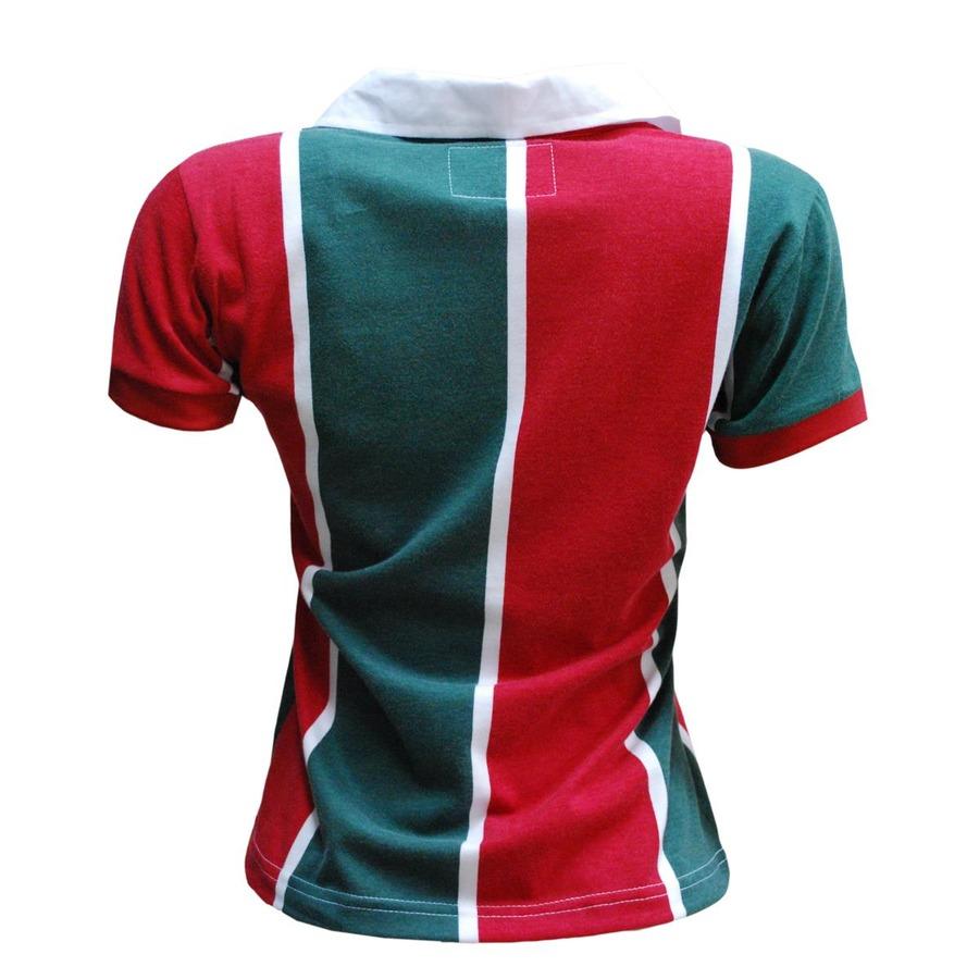 83d2573956 Camiseta do Fluminense Liga Retrô 1913 - Feminina