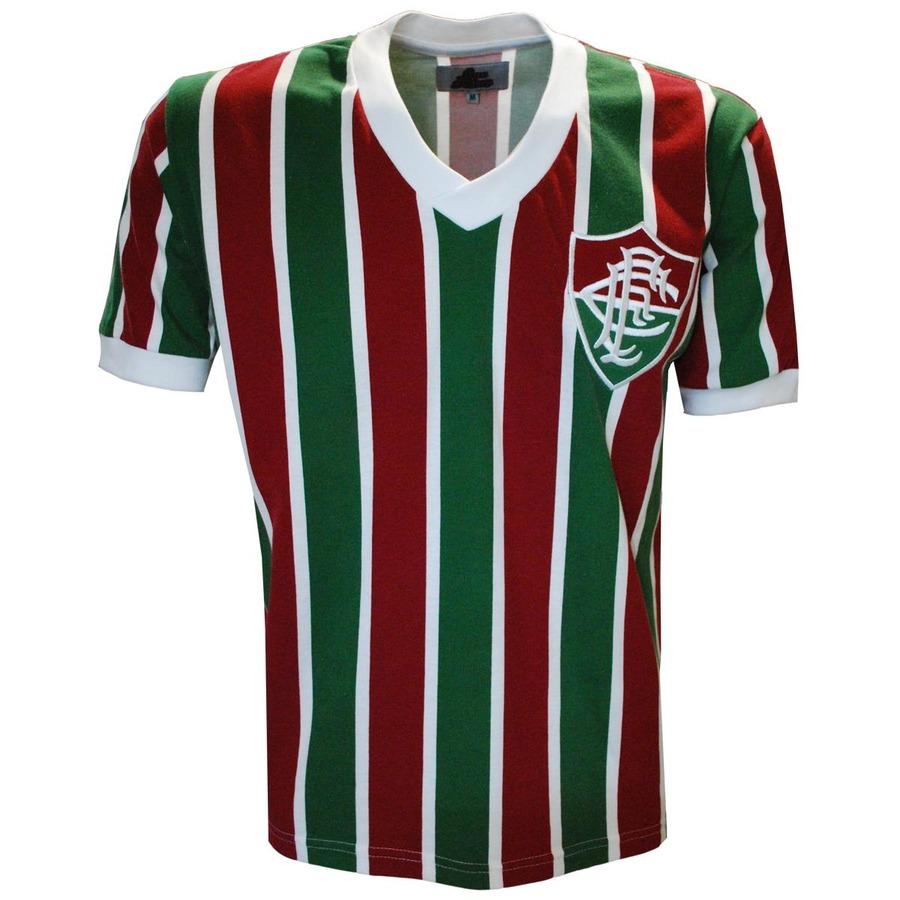 7c8cd8cf4c Camiseta do Fluminense Liga Retrô Mundial 1952 - Masculina