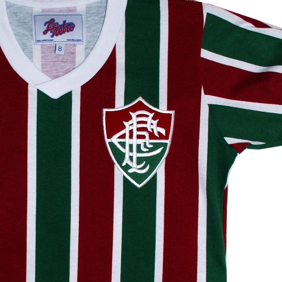 Camiseta do Fluminense Liga Retrô Mundial 1952 - Infantil be5296f397a67