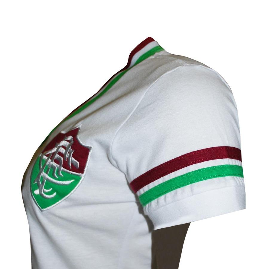 Camiseta do Fluminense Liga Retrô Mundial 1952 - Feminina c944f702f9dab