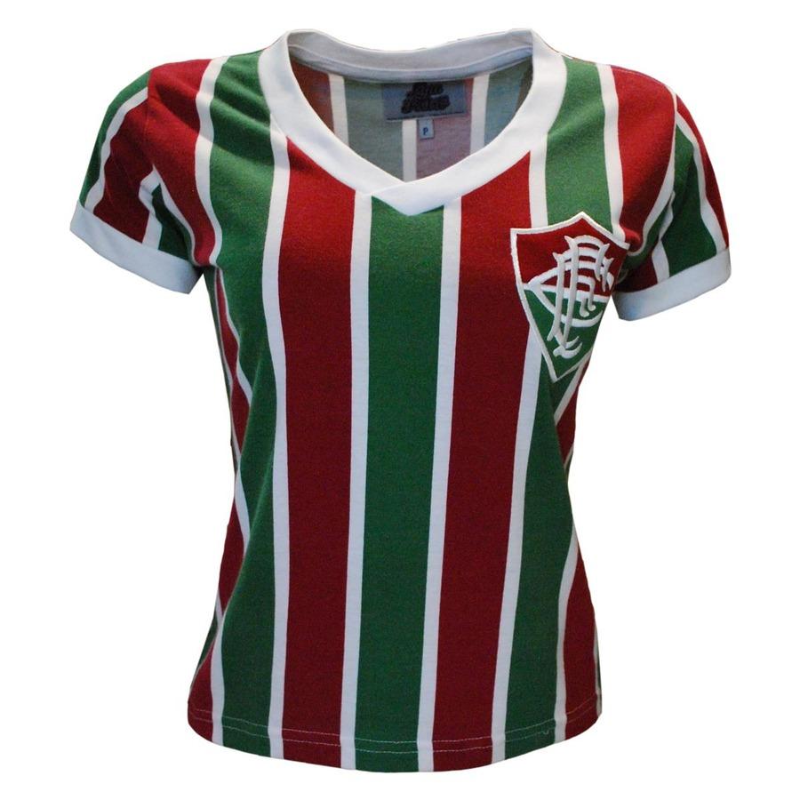 Camiseta do Fluminense Liga Retrô Mundial 1952 - Feminina 0d3ea1c45d628