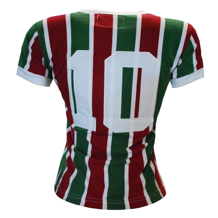Camiseta do Fluminense Liga Retrô Mundial 1952 - Feminina 72ed571531954