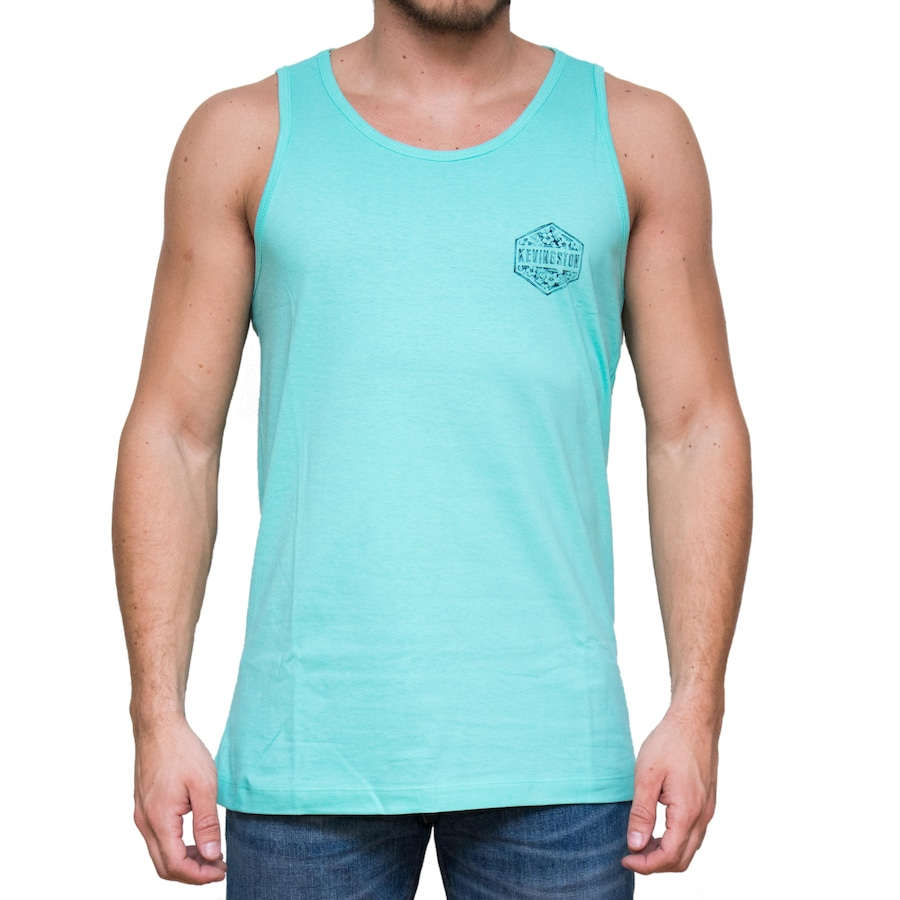 Camiseta Regata Kevingston Thunder - Masculina. Imagem ampliada ... d11db1d0037