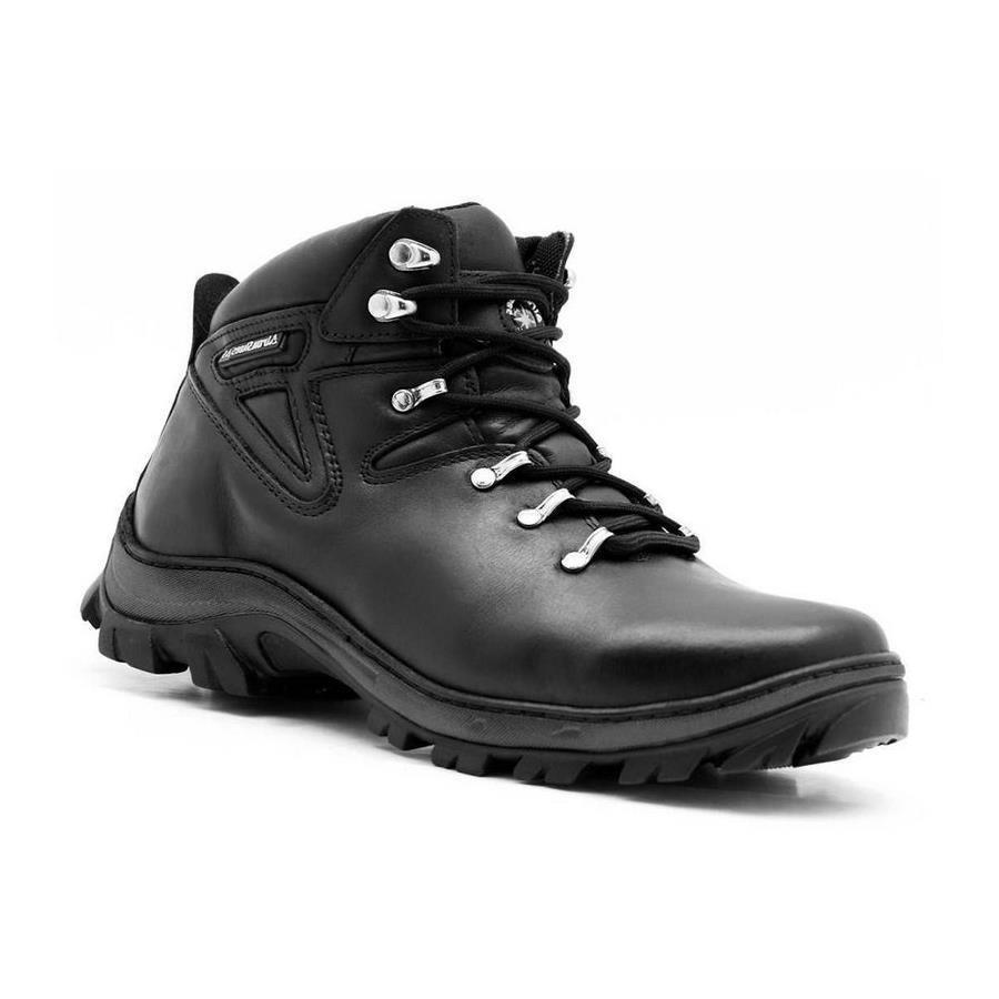 78b27067c9 Bota Atron Shoes Adventure em Couro para Trilhas e Caminhadas - Masculina