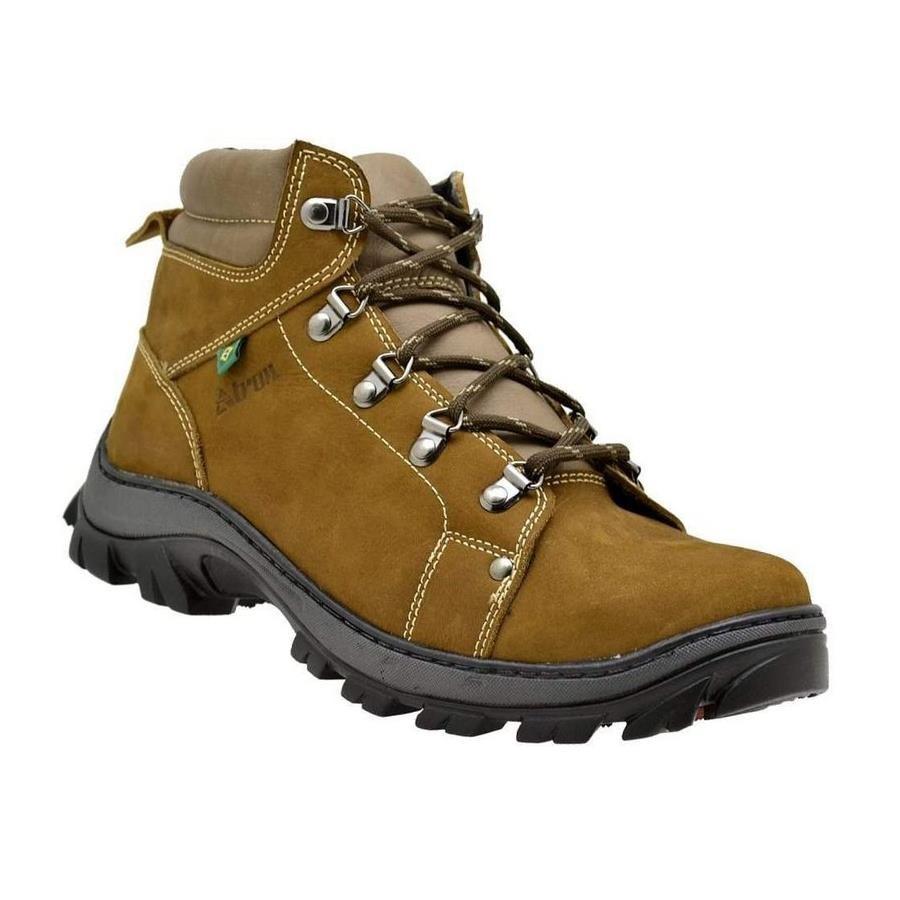 Coturno Atron Shoes Adventure em Couro - Unissex 50bf37013c