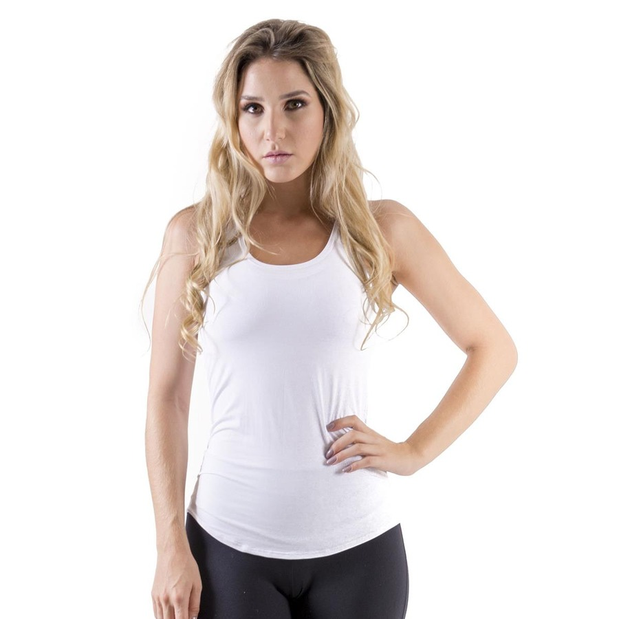 72c145e59b Camiseta Regata Mama Latina Fitness Básica - Feminina