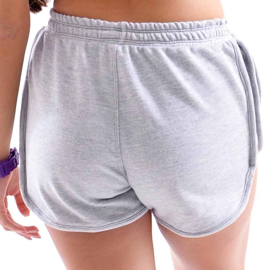 Short Mama Latina Running de Moletom - Feminino 8d3df968606fb