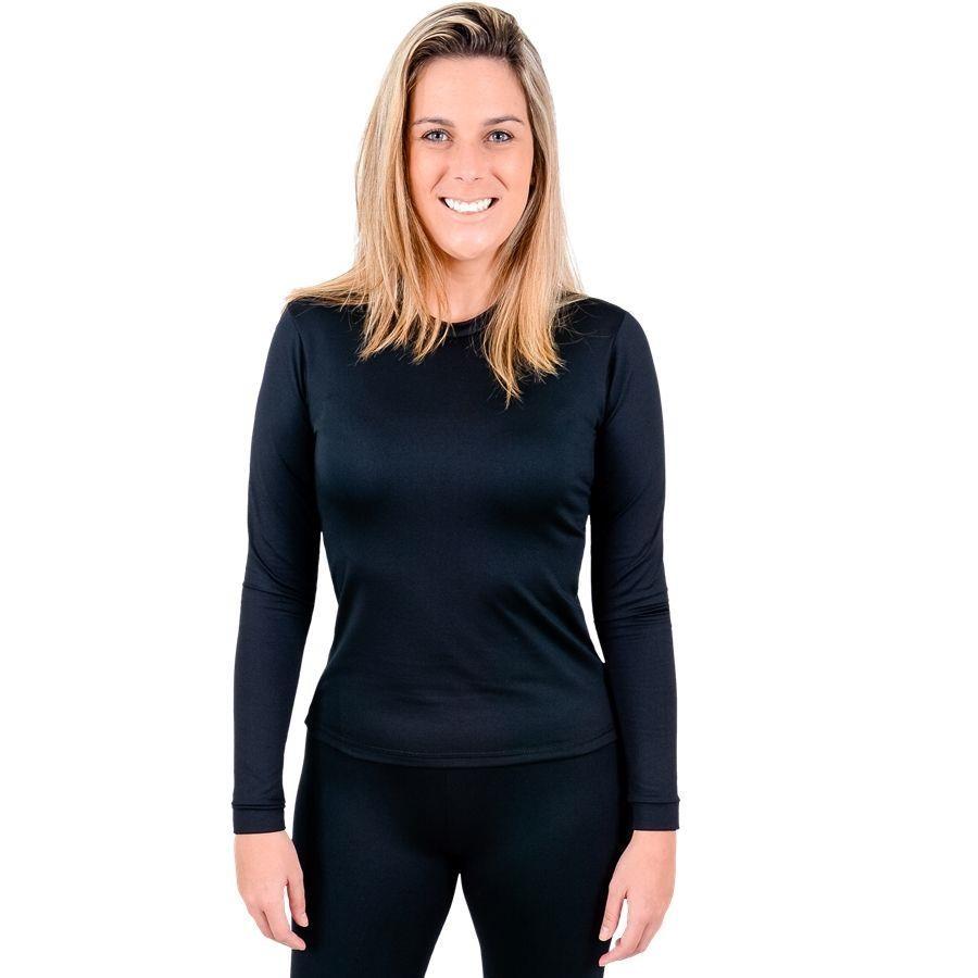 Camisa Manga Longa Térmica Segunda Pele RT para Frio Intenso - Feminina bf394ae74e67c