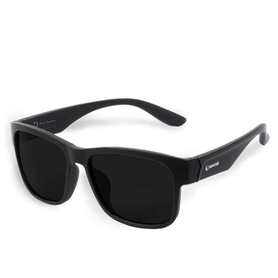 4f3b932c89a5f Óculos de Sol Suncode Bold Carbon Black