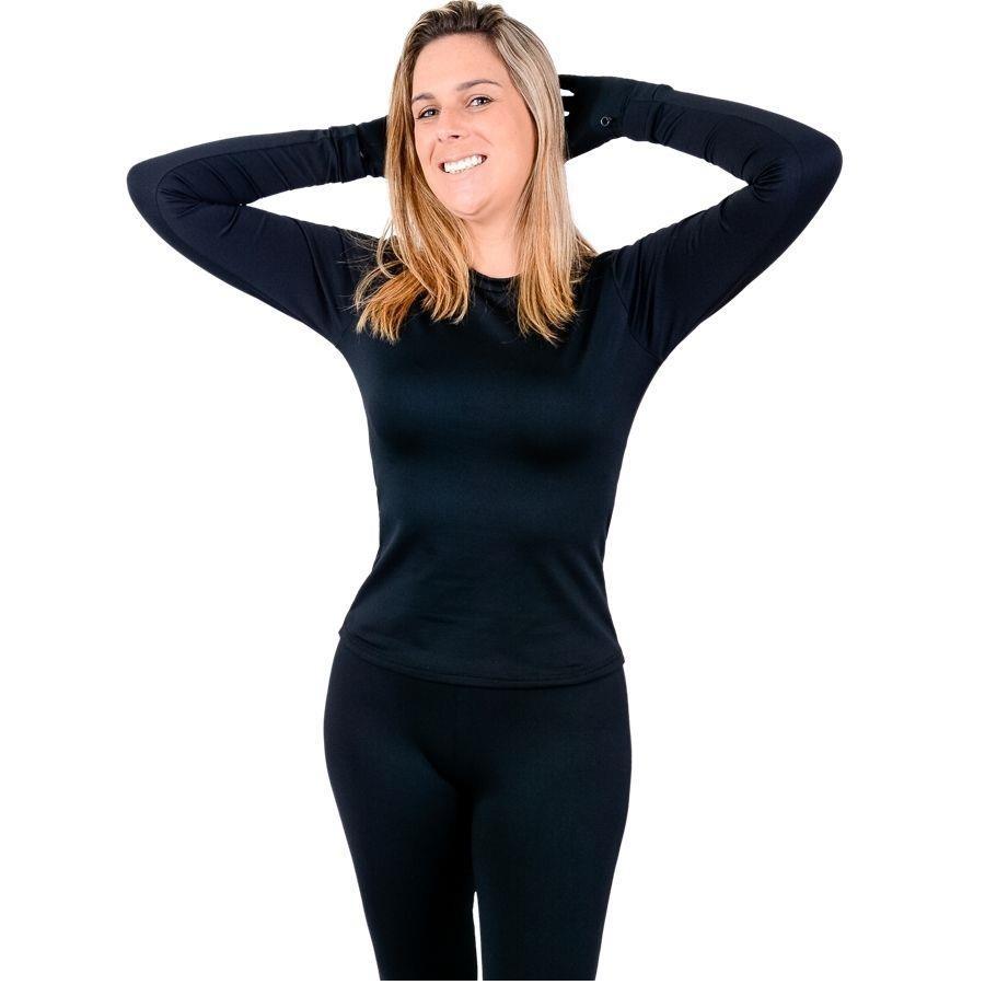 Conjunto Térmico de Camiseta Manga Longa e Calça RT - Feminino 4e1edb31fa140