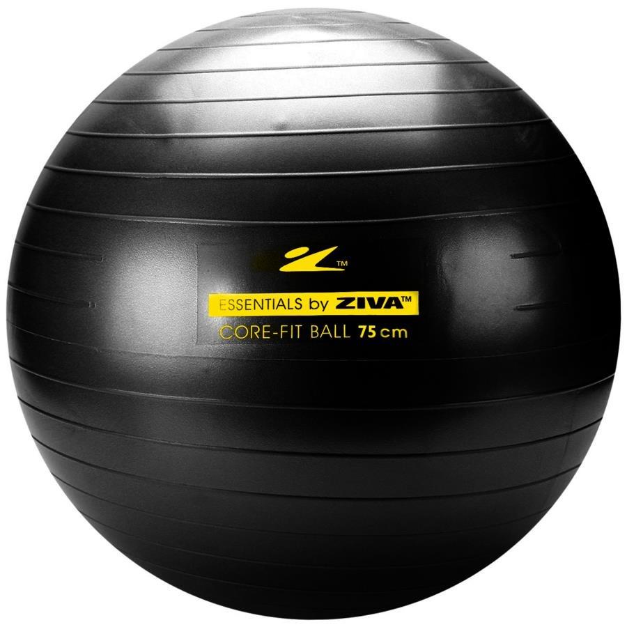 Bola de Pilates Suiça Ziva Anti-Estouro - 75cm 2ccdcb0cdfd93