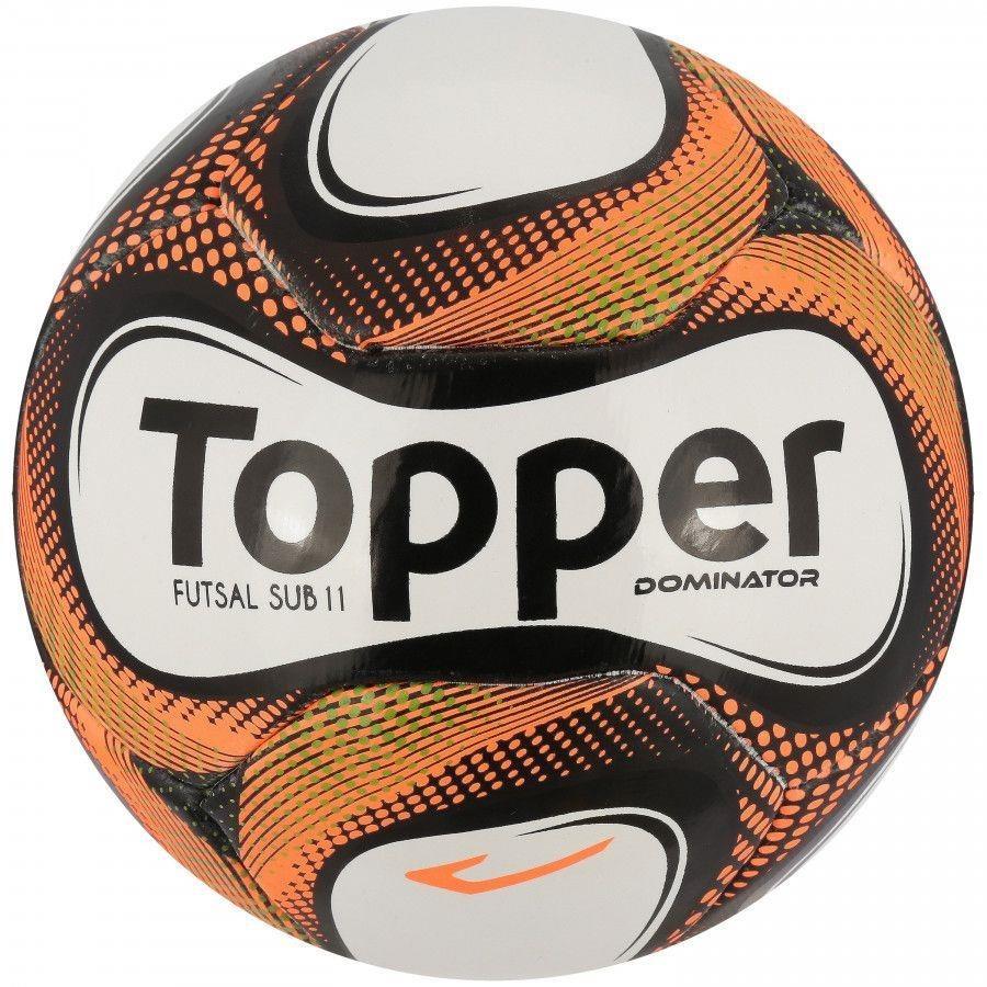 ea0c1de28e Bola de Futsal Topper Dominator Sub 11 sem Costura - Infantil