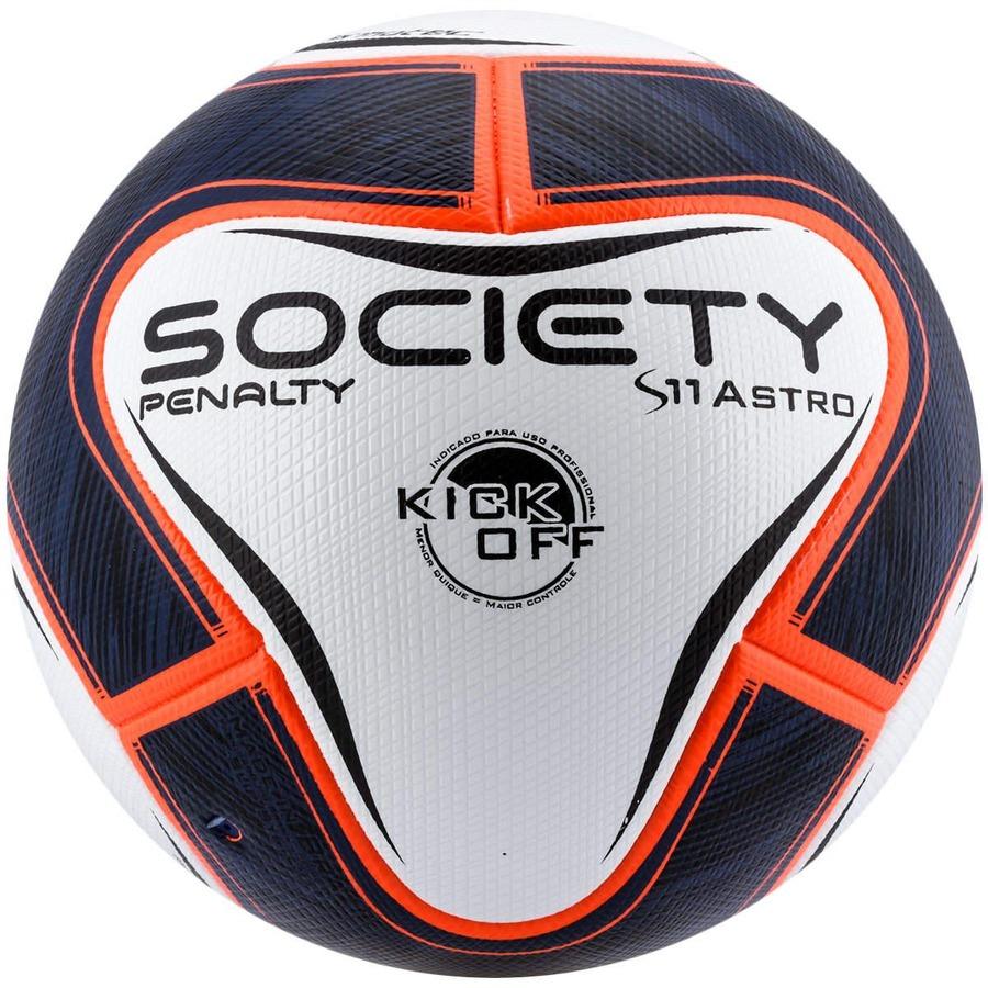 Bola de Society Penalty Astro VI Kick Off Profissional S11 7d263f95369aa