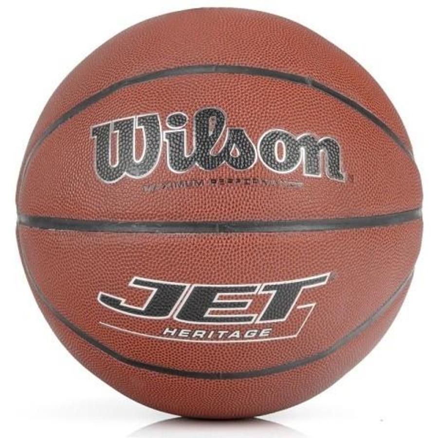 4b914b582a769 Bola de Basquete Wilson Oficial Jet Heritage em Couro