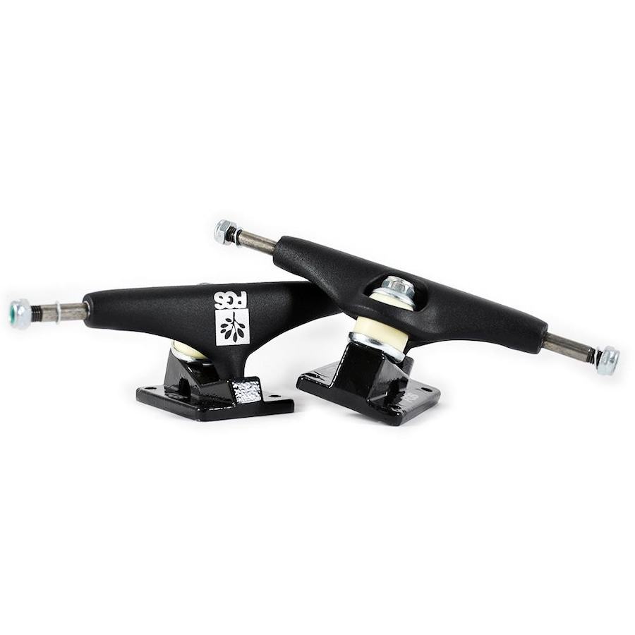 62581cc1bc Kit de Truck de Skate PGS Pro 139mm com Lixa Gringa + Cheapshots + Parafuso