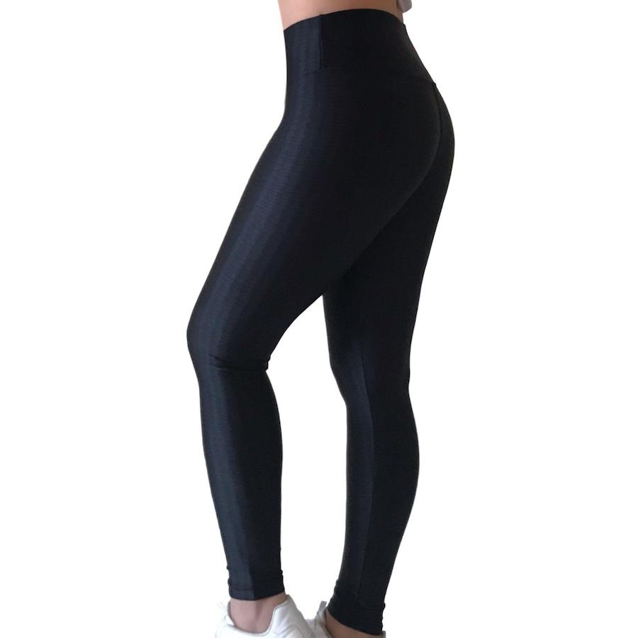 Calça Legging Mademoiselle Modas 3D - Feminina 390062e98a
