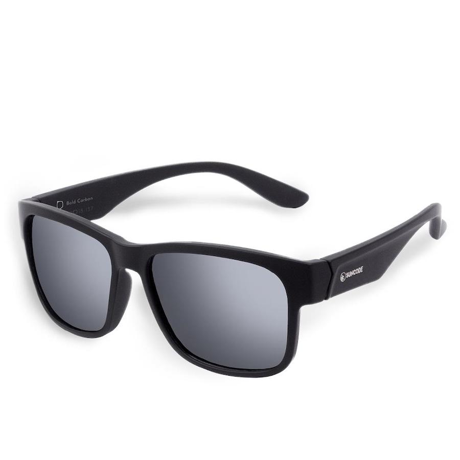 62090238b80cc Óculos de Sol Suncode Bold Carbon Platinum - Unissex