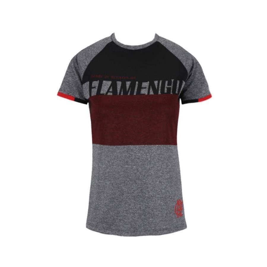 Camiseta do Flamengo Braziline Team Raglan - Feminina 7b5e7dc259871