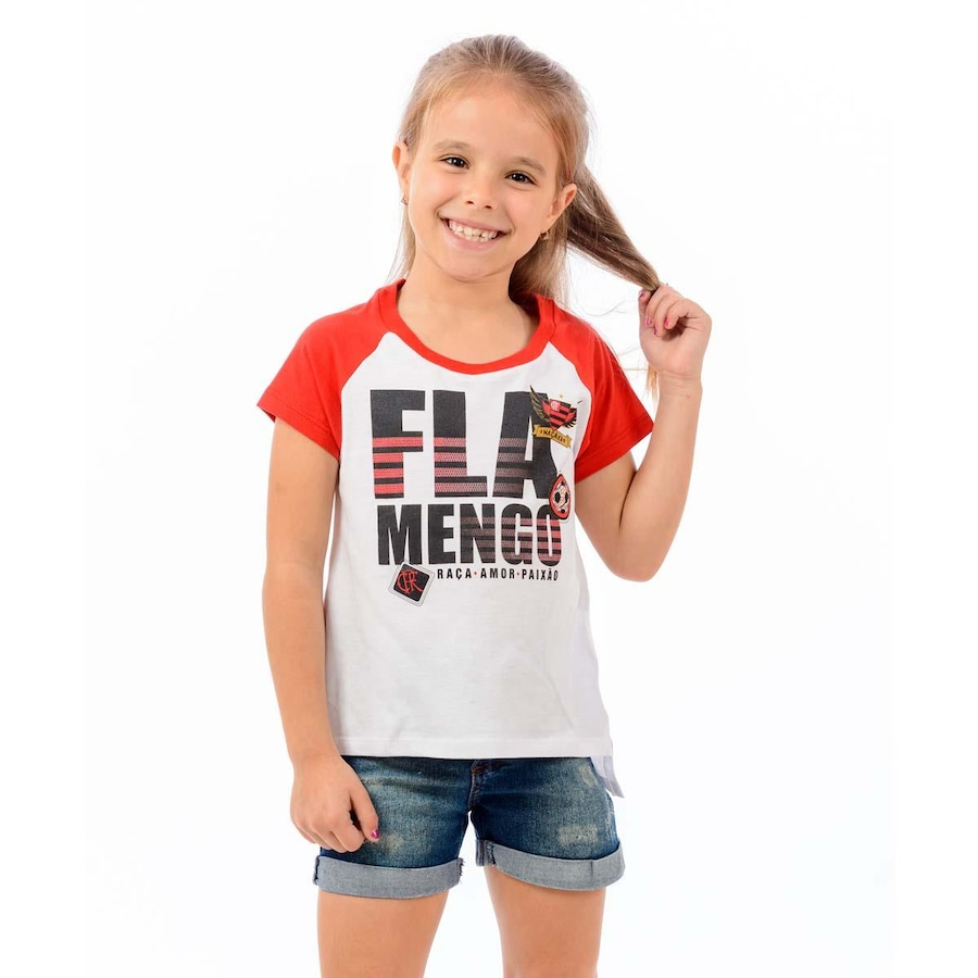 Camiseta do Flamengo Braziline School - Infantil 578c2df5ed5b4