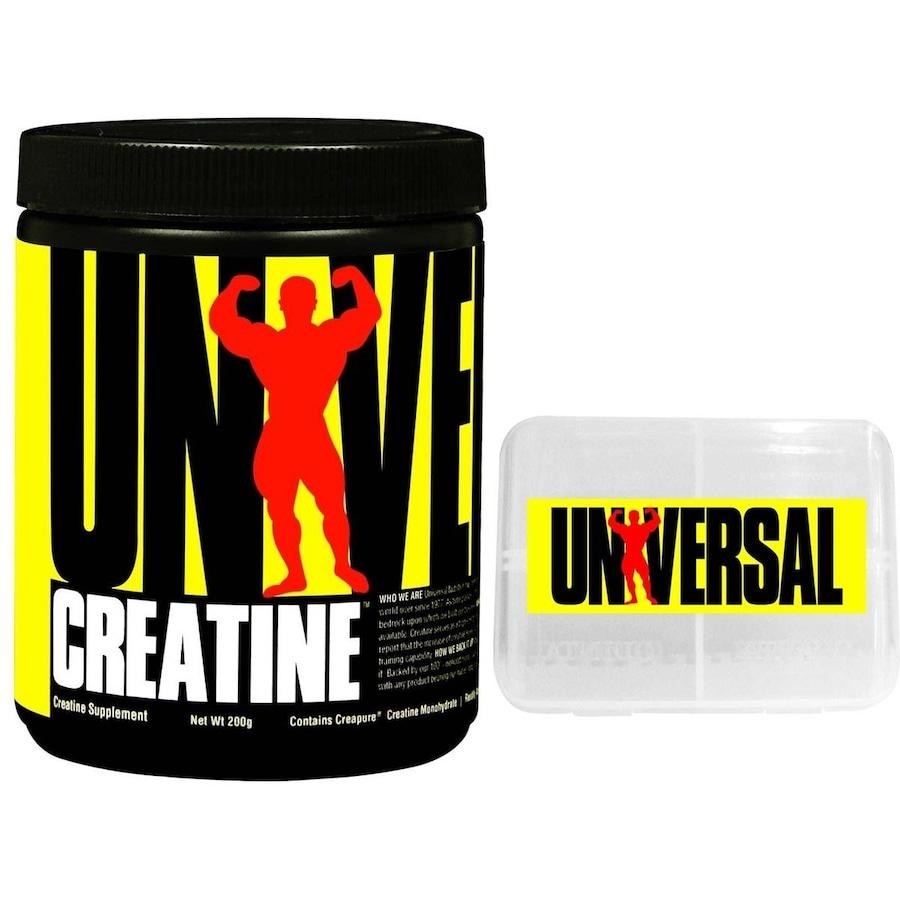 801942ec2 Creatina Universal Nutrition Powder - Natural - 200g + Porta Cápsulas