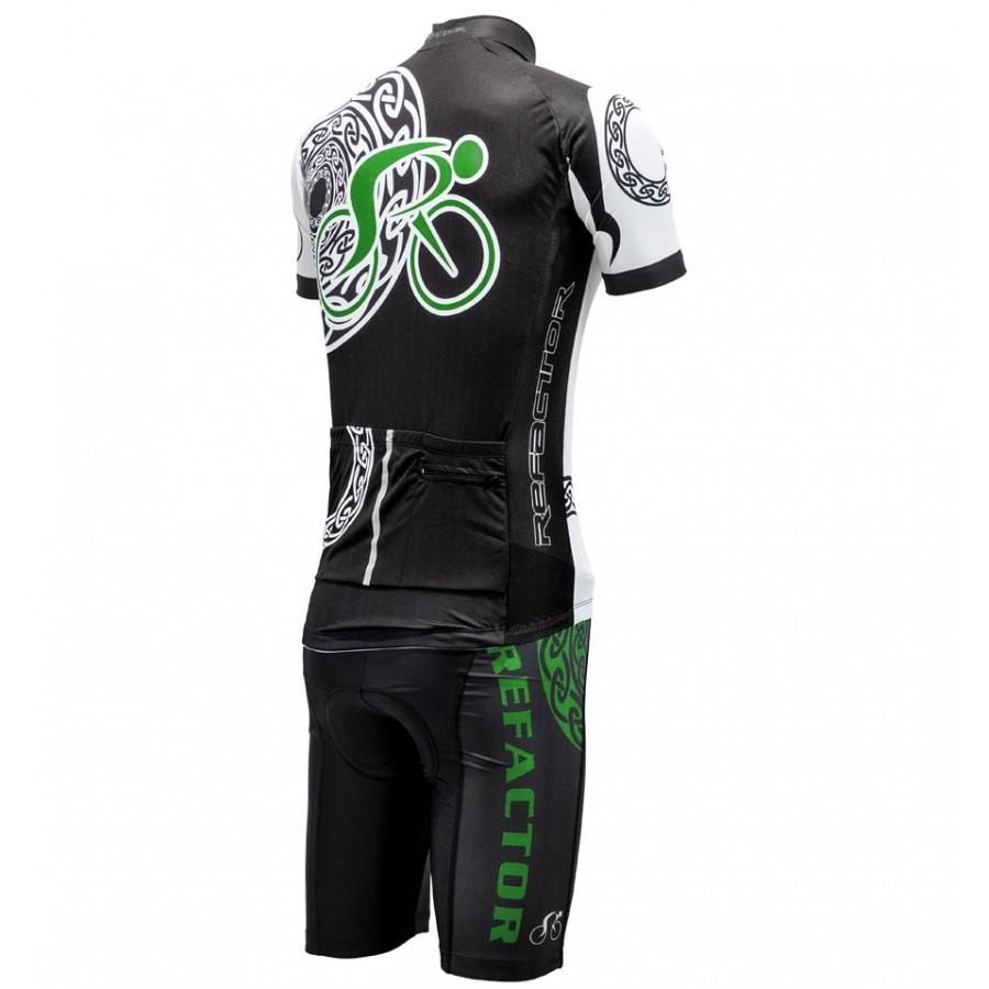 Conjunto de Ciclismo Refactor Mandala com Camisa e Bermuda - Masculino da670f9aa8