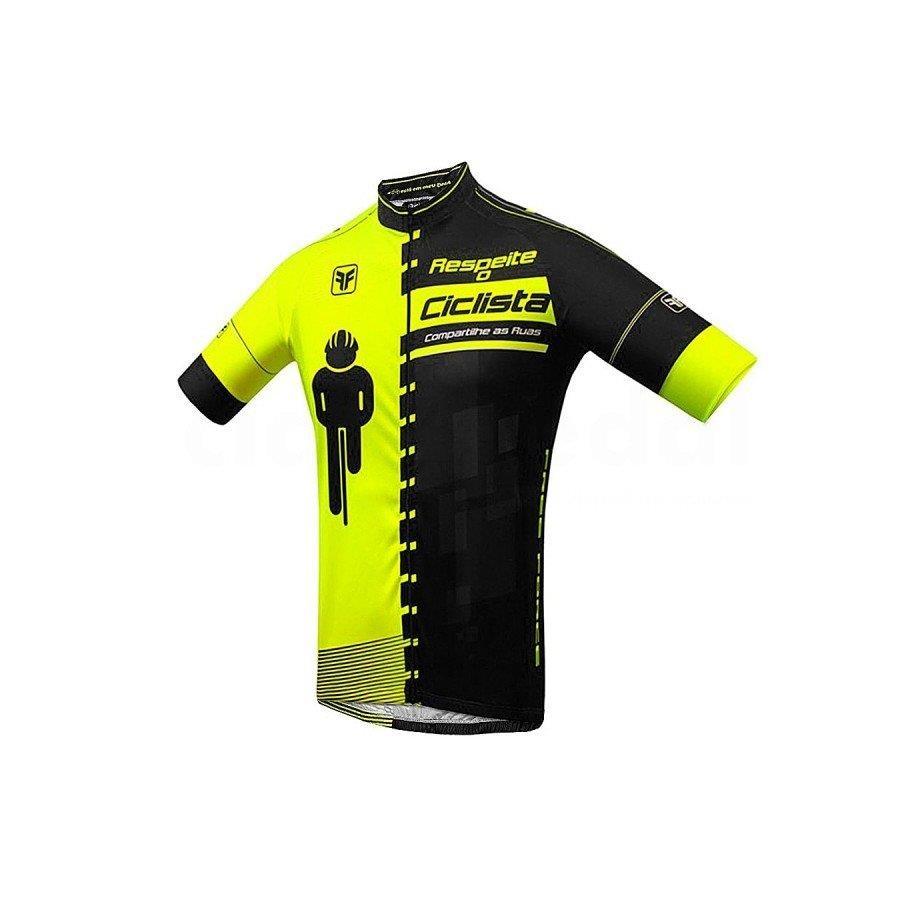 Camisa de Ciclismo Free Force Transit - Infantil 39aceb096df