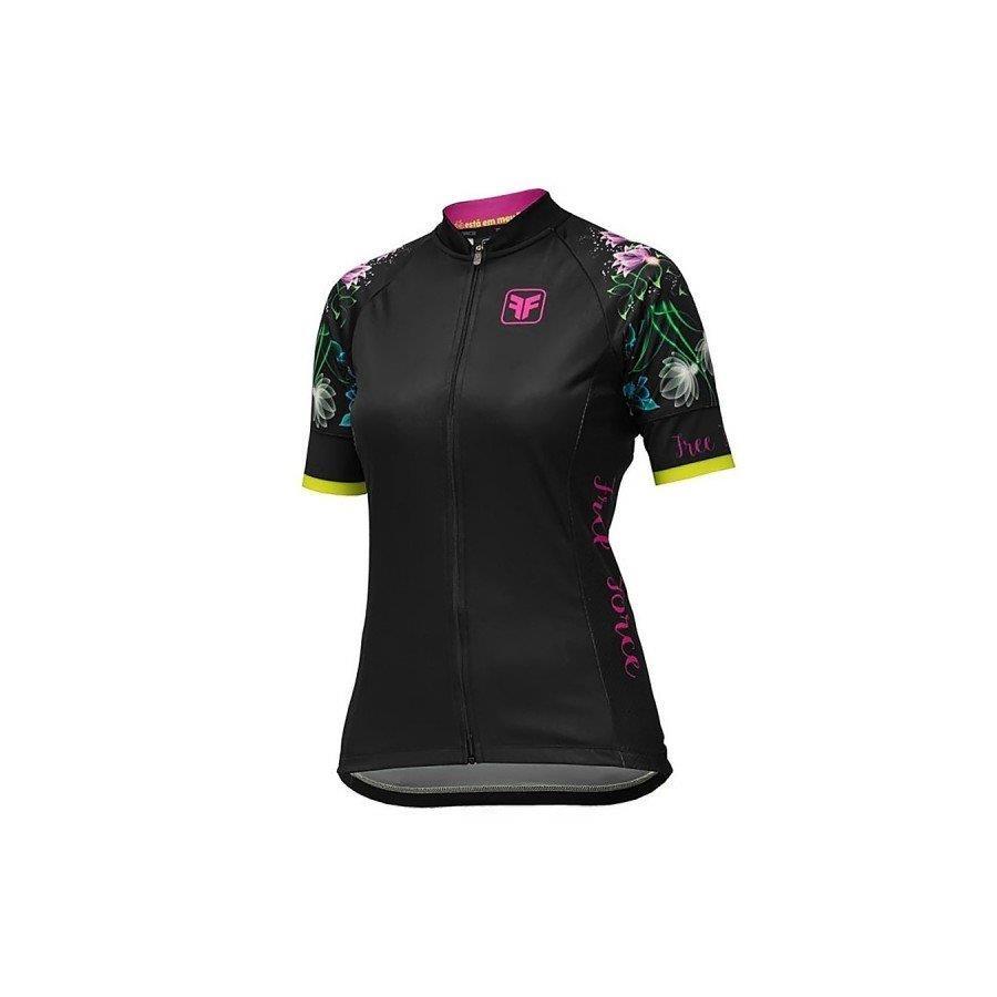 ec7f6b9243e75 Camisa de Ciclismo Free Force Delicacy - Feminina