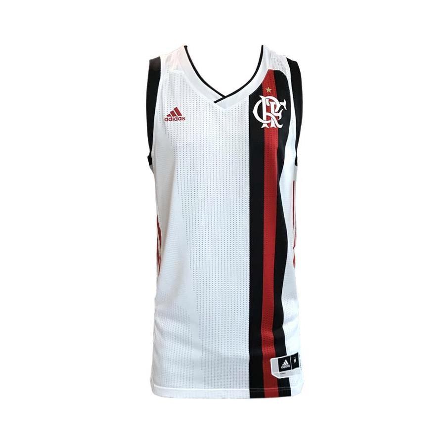 Camisa Pr茅 Jogo do Flamengo 2017 Longline adidas Masculina 9cf2e799bf26c