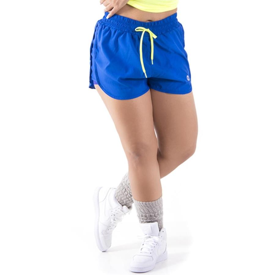 Shorts Mama Latina Running Duplo Action Fast - Feminino f43bdc166d0ea