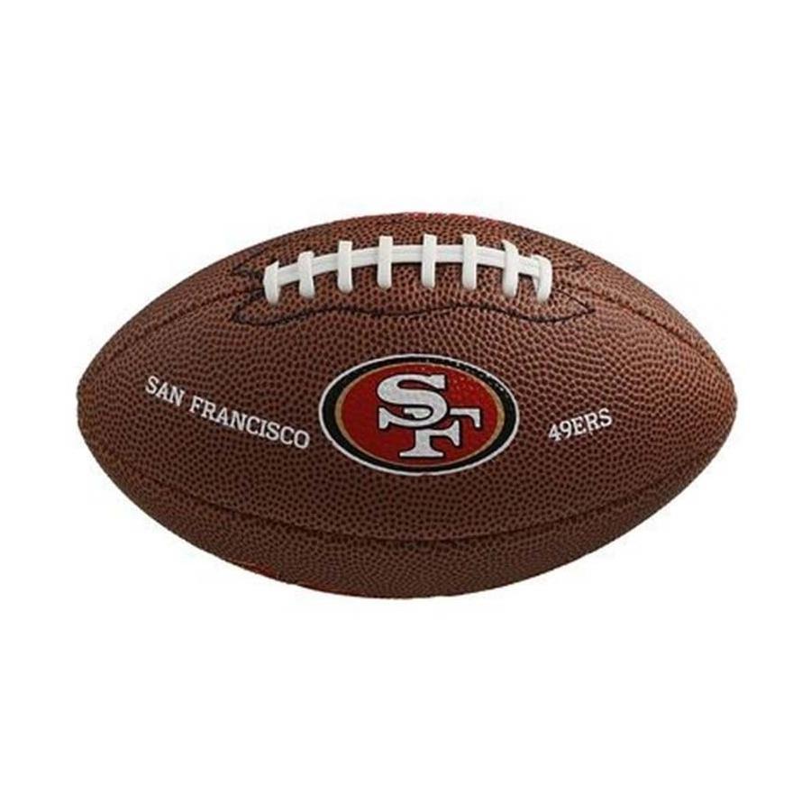 Mini Bola de Futebol Americano Wilson San Francisco 49ers e5f8fa3782ae9