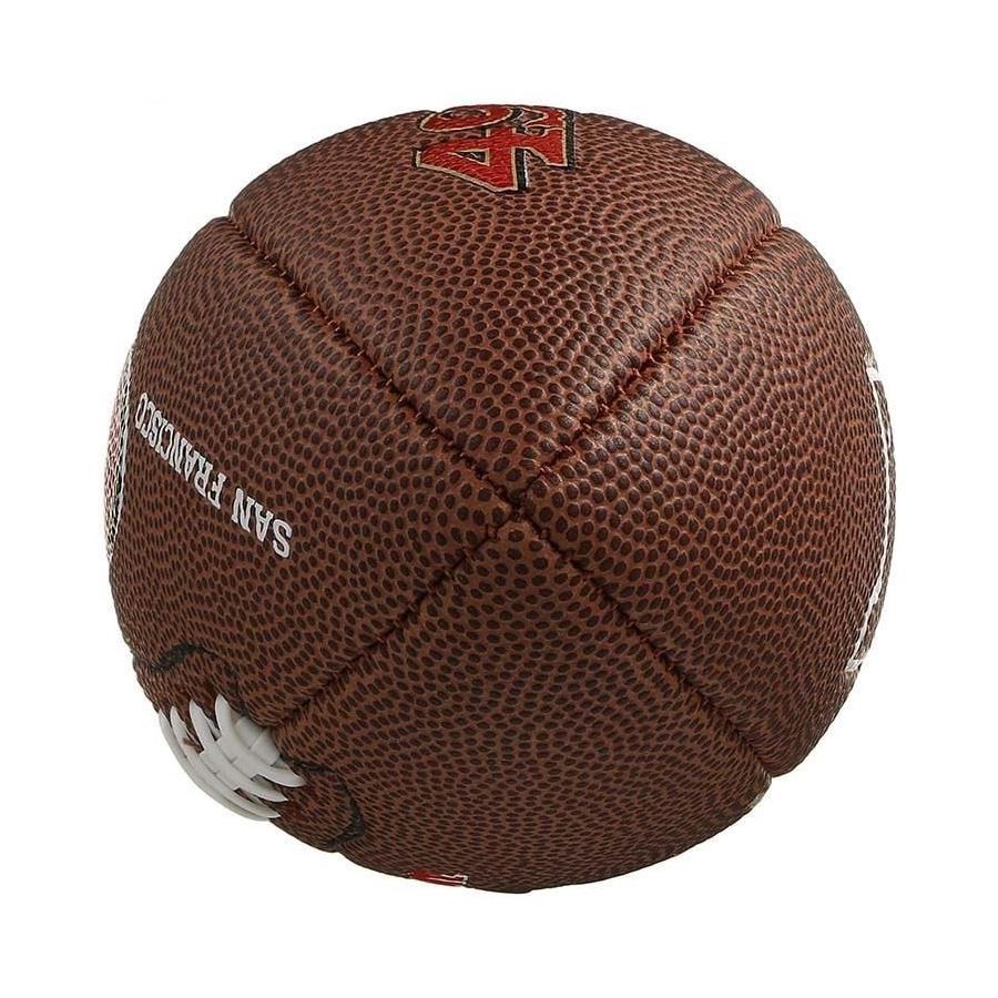 Mini Bola de Futebol Americano Wilson San Francisco 49ers a0a366a1afe4f